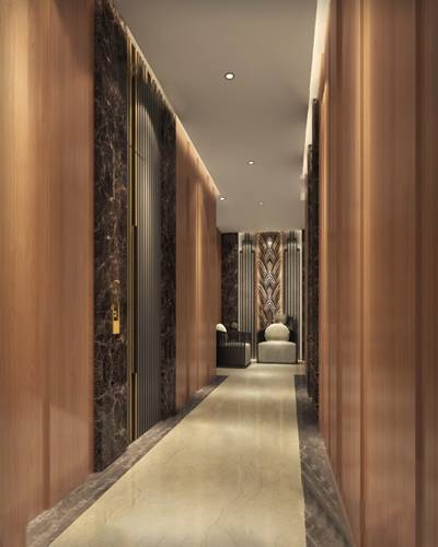 现代走廊3D模型【ID:920612517】