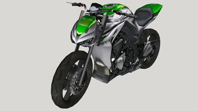 川崎Z1000SU模型【ID:740176997】