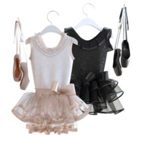 现代服装舞蹈服裙子鞋子3D模型【ID:527797120】