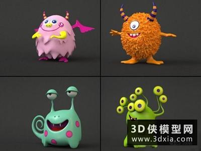 玩具国外3D模型【ID:129520921】