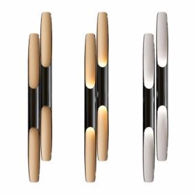 现代金属壁灯组合3D模型【ID:528451977】