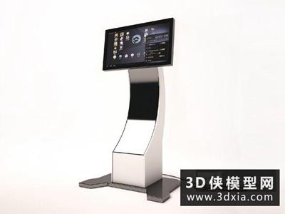 自助查询机国外3D模型【ID:229764350】