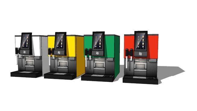 WMF1100S咖啡机SU模型【ID:538716486】