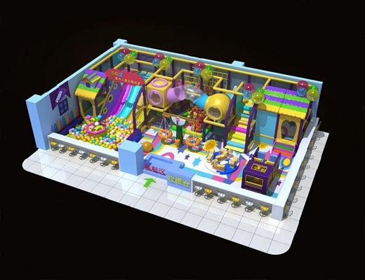 现代游乐场3D模型【ID:726228551】