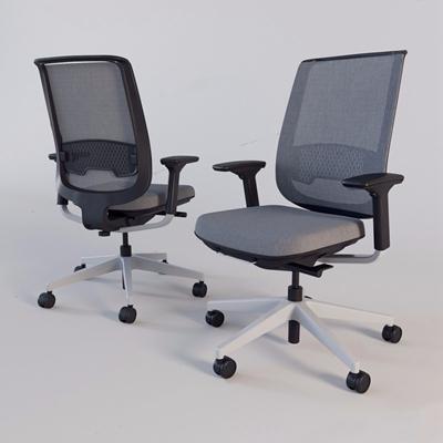现代办公椅3D模型【ID:227884935】