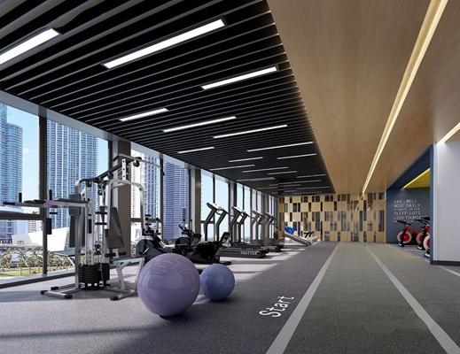 深业国际健身房3D模型【ID:927986671】