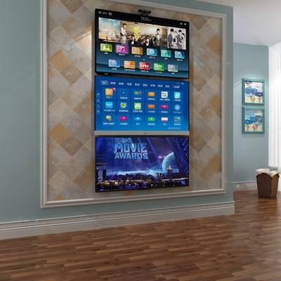 现代电视机3D模型下载【ID:119483378】