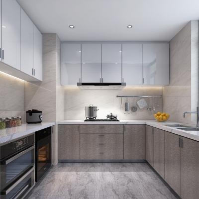 现代厨房3D模型【ID:128408415】