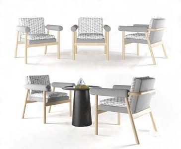 �F代⌒ 休�e椅3D模型【ID:231430444】
