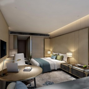 酒店客房3D模型【ID:427963652】