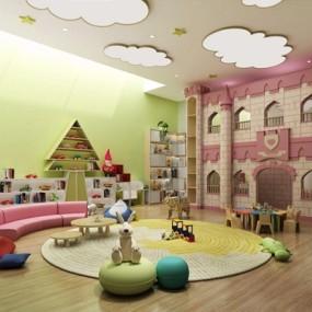 儿童乐园3D模型【ID:127875254】