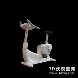 健身器材國外3D模型【ID:129844857】