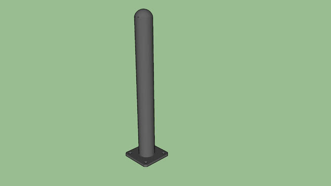 R-7236鋼制栓系柱SU模型【ID:940217598】