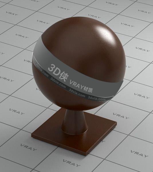 棕色皮革Vray材質【ID:736500960】