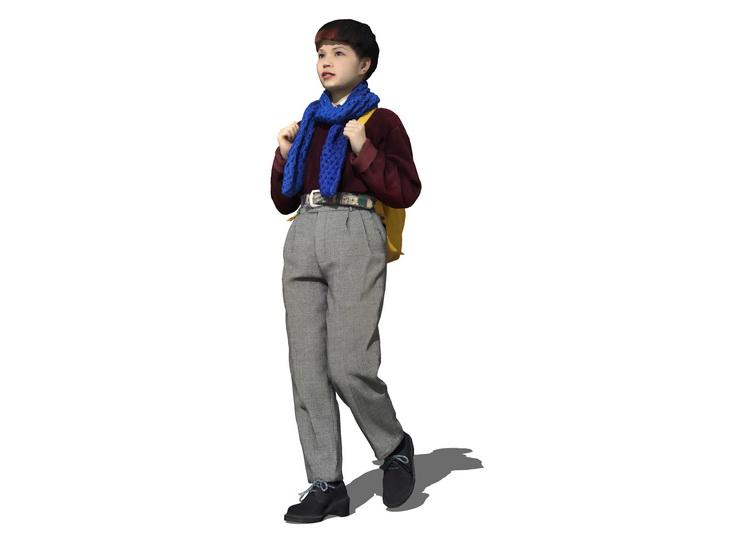 3D女人物SU模型【ID:136813745】