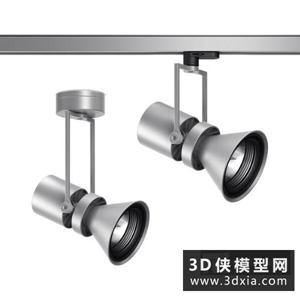 現代軌道燈國外3D模型【ID:929817151】