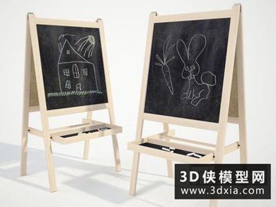画板国外3D模型【ID:229765001】