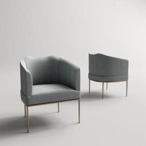 美式餐椅3D模型【ID:327892079】