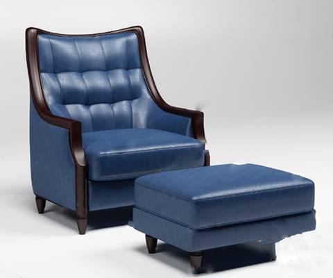 单人沙发3D模型【ID:920013619】