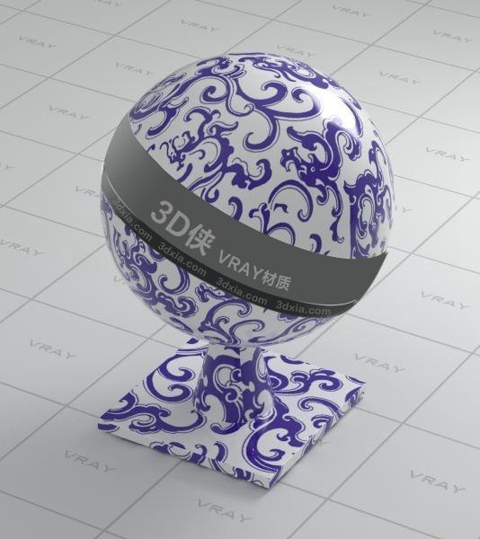 陶瓷Vray材質【ID:736502724】