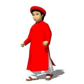 古代3D人物SU模型【ID:845895006】