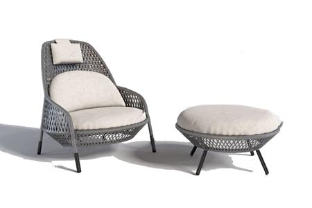 现代户外休闲椅3D模型【ID:741712529】