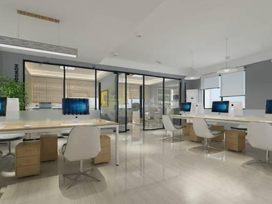 办公室3D模型【ID:620013040】