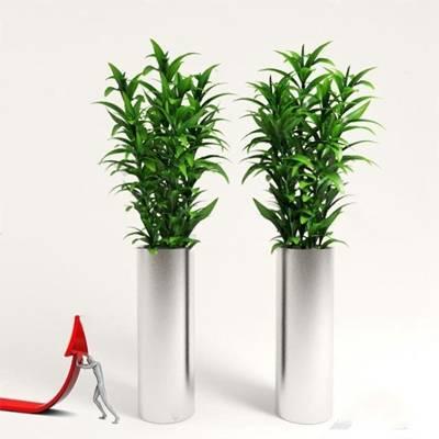 现代花瓶3D模型下载【ID:619603820】