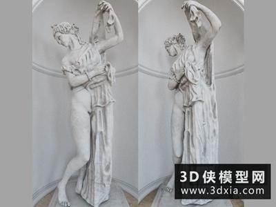 雕塑国外3D模型【ID:929438760】
