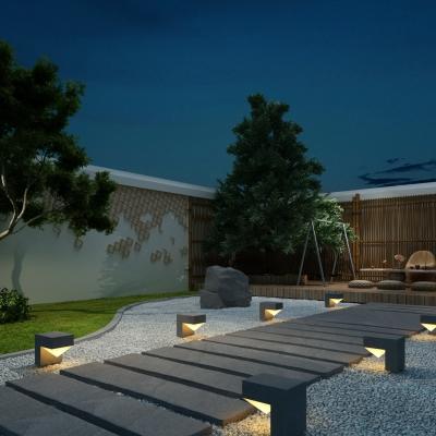 现代庭院景观小品3D模型【ID:127767804】
