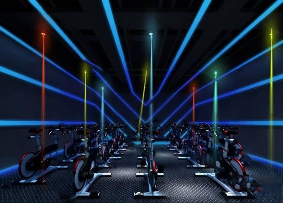 现代健身房3D模型【ID:920616625】