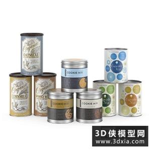罐頭食品國外3D模型【ID:929816583】