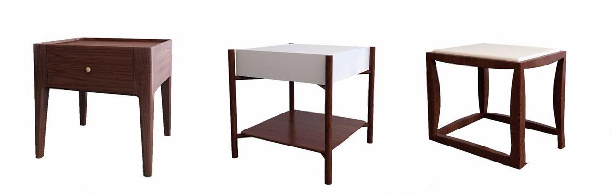 现代床头柜-P3D模型【ID:928195654】