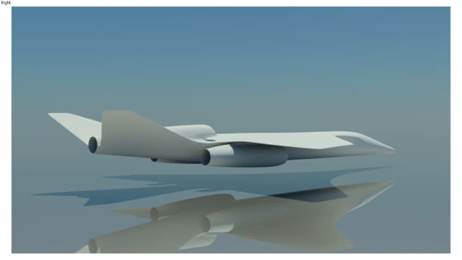 蘇霍伊EADS超音速技術演示器SU模型【ID:840254536】