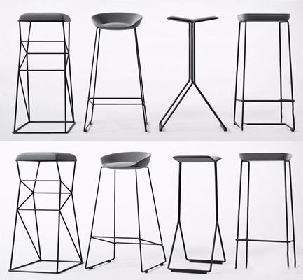 �F代��s吧①椅�M合3D模型【ID:328243158】
