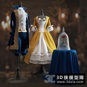 童裝模特模型下載國外3D模型【ID:929323617】