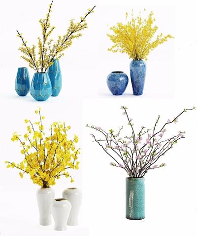 裝飾花瓶3D模型【ID:928334165】