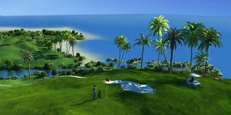 现代高尔夫球场3D模型【ID:324894644】