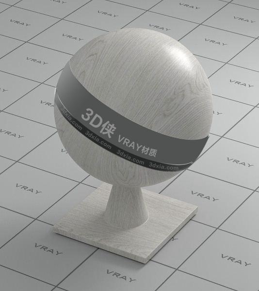 白色木头Vray材质【ID:736505372】