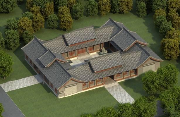 建筑3D模型【ID:320026632】
