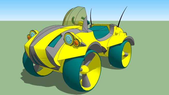 """儿童机器""""行星骑士""""玩具SU模型【ID:438866915】"""