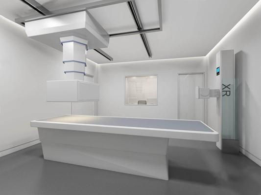 醫院DR掃描間3D模型【ID:928188624】