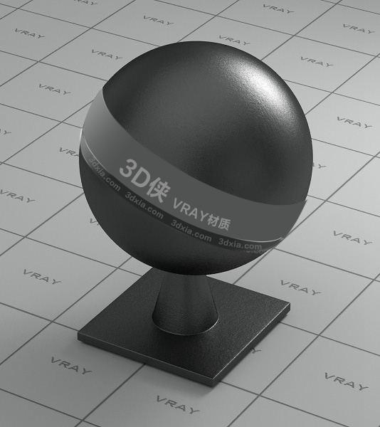 黑色皮革Vray材质【ID:736507965】