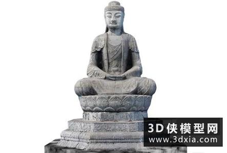 佛像国外3D模型【ID:329354064】