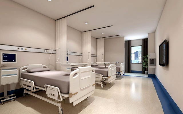 现代医院病房3D模型【ID:928350674】
