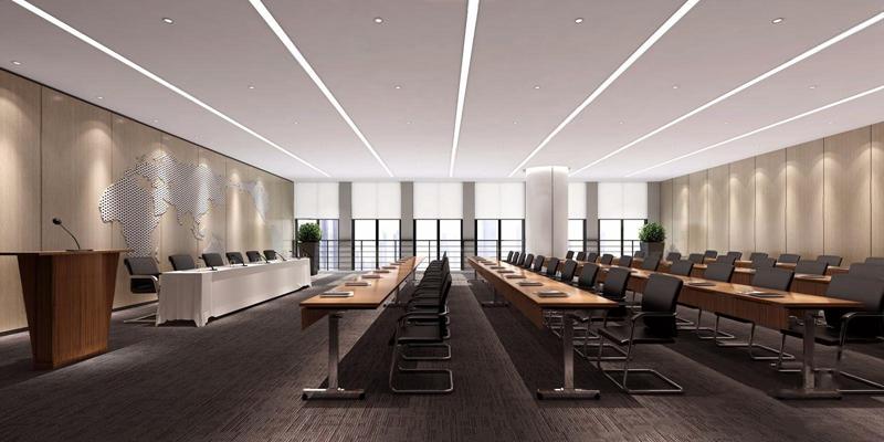 現代會議室3D模型【ID:728093877】