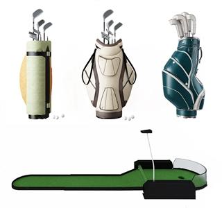 高尔夫球杆袋3D模型【ID:532399373】