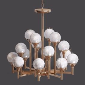 现代吊灯 3D模型【ID:741632831】