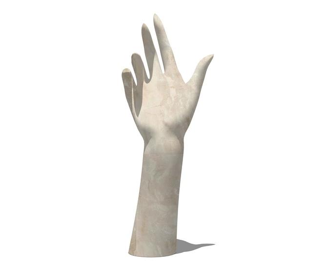 手形摆件SU模型【ID:936912608】