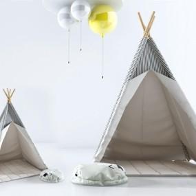 儿童帐篷3D模型【ID:528009236】
